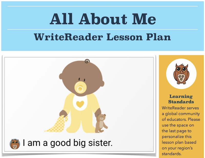 all about me lesson plan