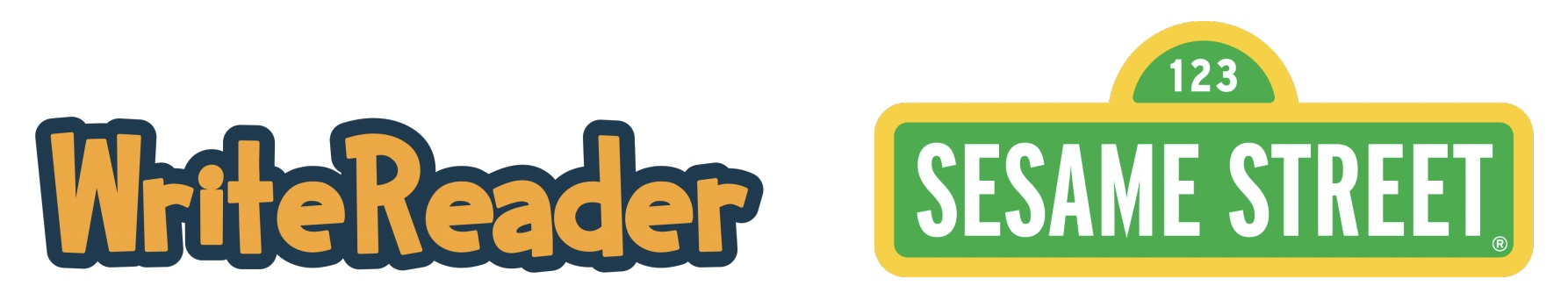writereader and sesame street logos