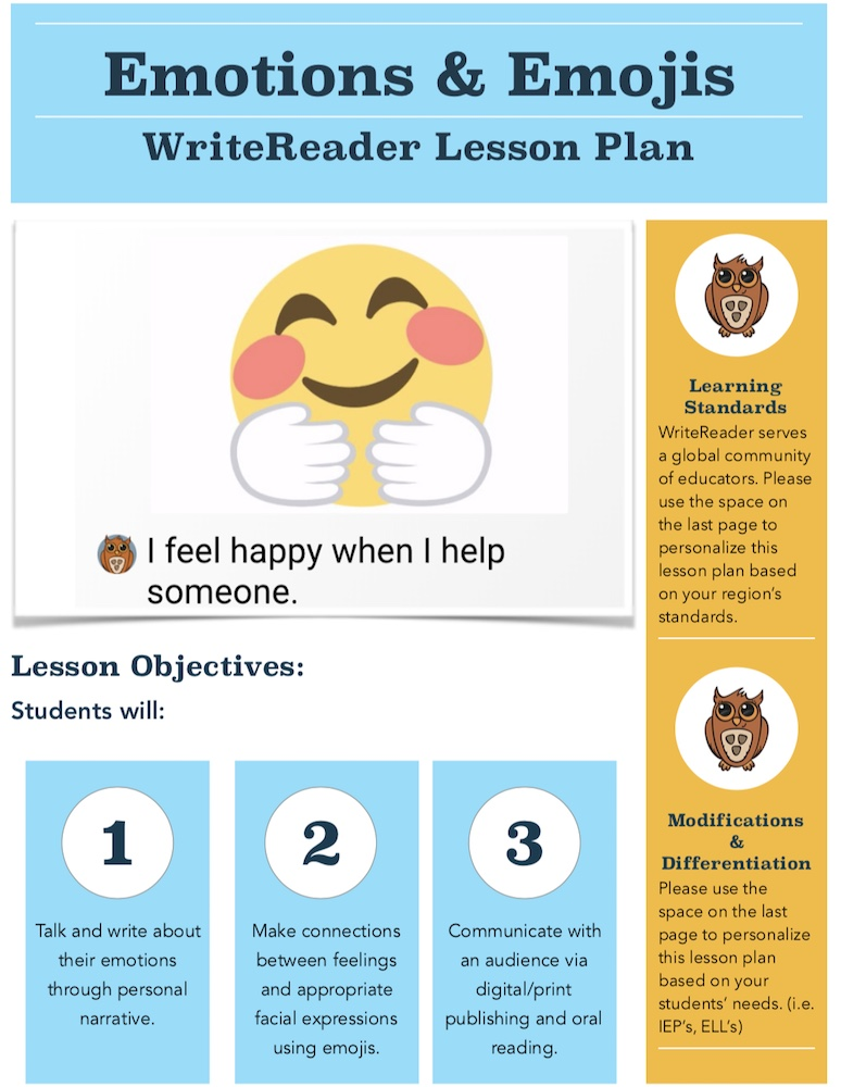 emoji lesson plan