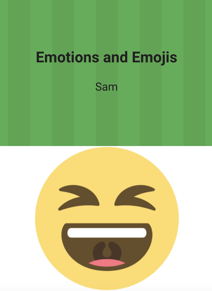 When Adding Sel To Curriculum >> Emotions and Emojis lesson plan | WriteReader