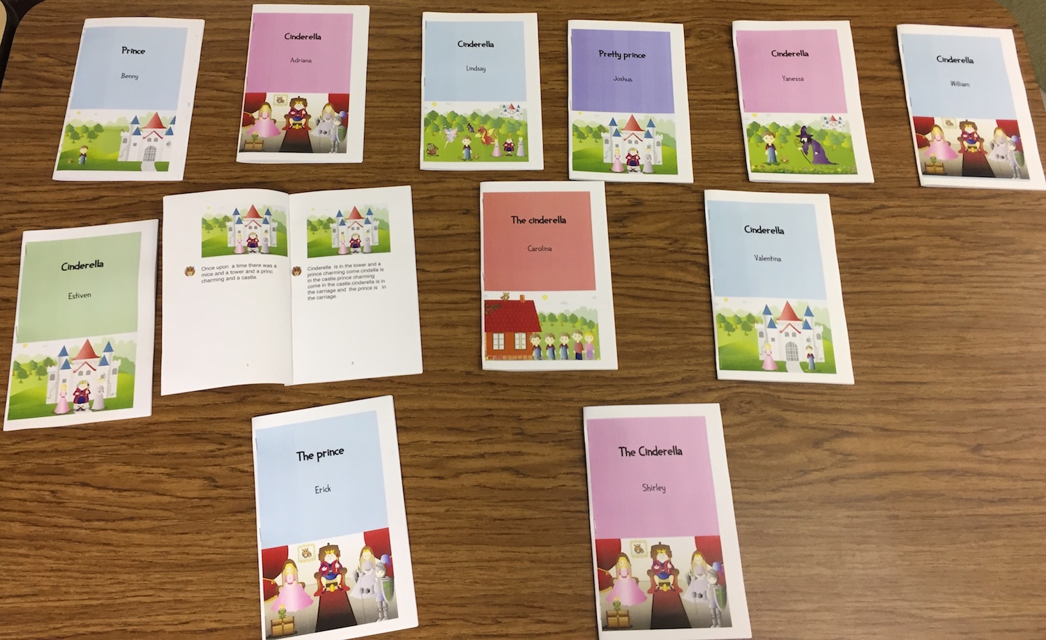 Fairy tale booklets