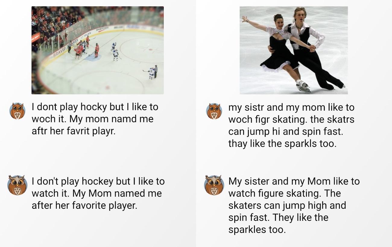 hokey and skating