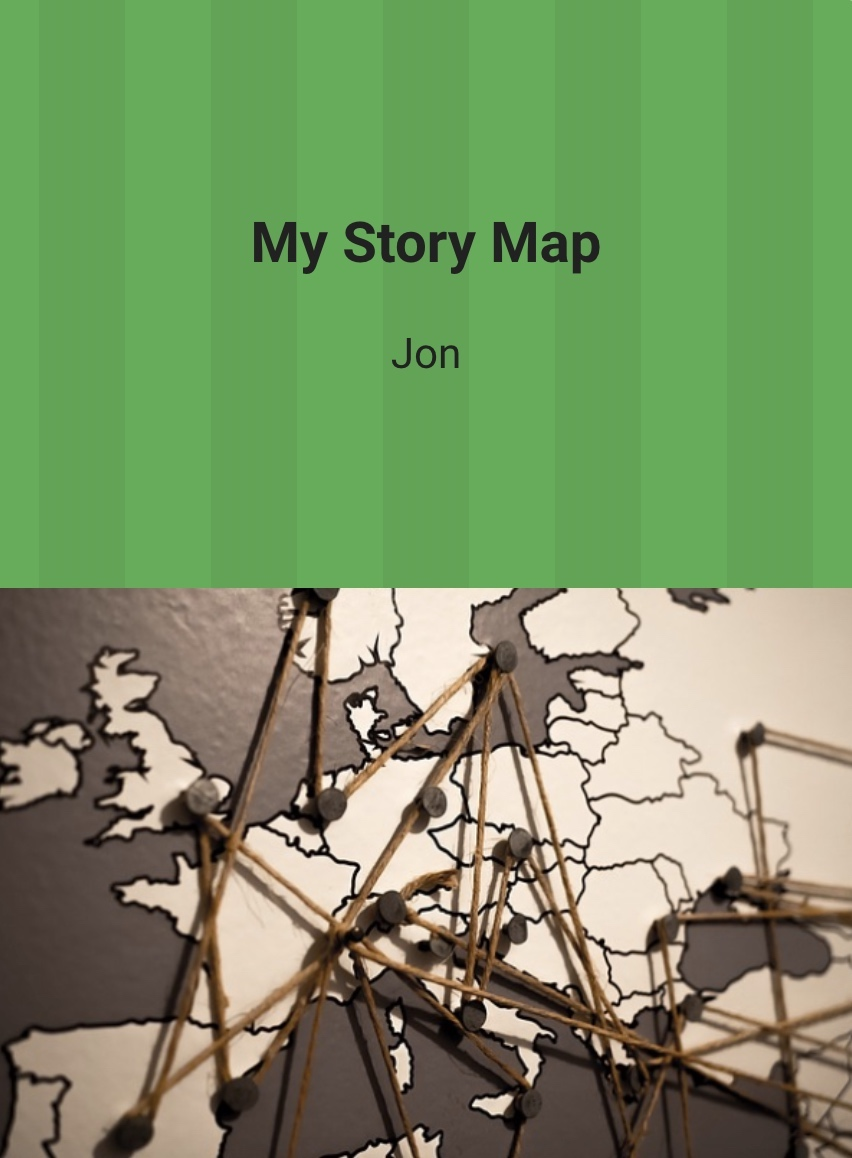 story map europe