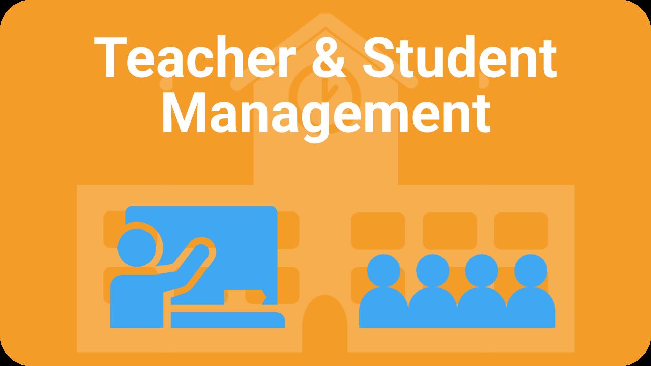 Teacher_student_management